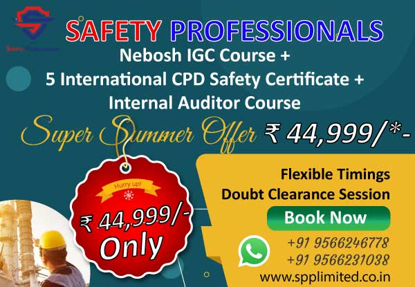 Nebosh Course fees in Chennai